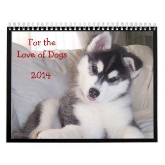 Calendario 2014 - para el amor de perros