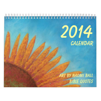 Calendario 2014 por la bola de Naomi
