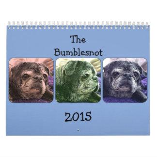 Calendario 2015 de Bumblesnot
