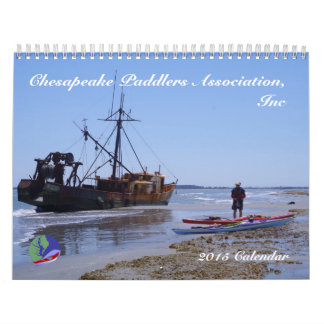 calendario 2015 de Chesapeake Paddlers