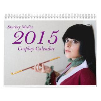 Calendario 2015 de Cosplay de los medios de