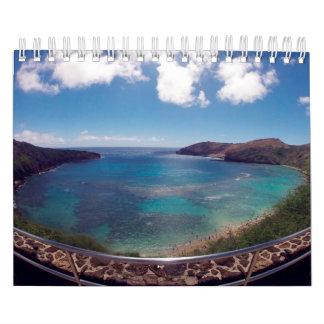 Calendario 2015 de Hawaii de la bahía de Hanauma