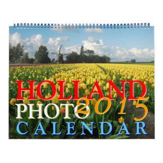 Calendario 2015 de Holanda