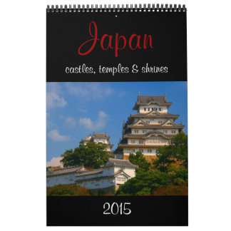 calendario 2015 de Japón