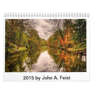 Calendario 2015 de Juan A. Feist