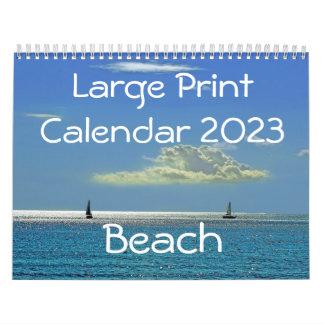 Calendario 2015 de la ampliación de foto - playa