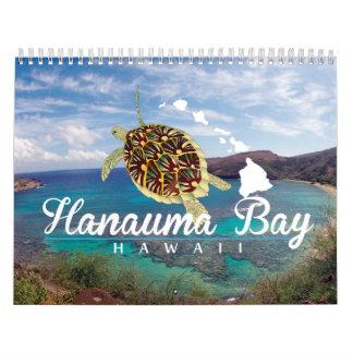 Calendario 2015 de la bahía de Hanauma