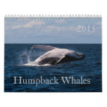 Calendario 2015 de la ballena jorobada