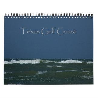 Calendario 2015 de la Costa del Golfo de Tejas