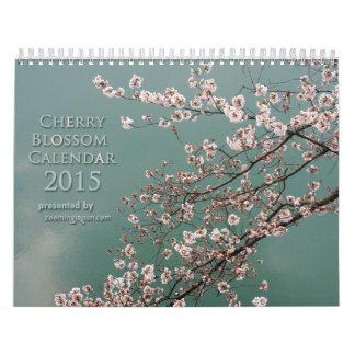 Calendario 2015 de la flor de cerezo