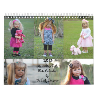 Calendario 2015 de la foto de las muñecas de la