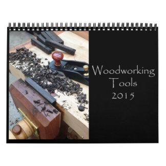 Calendario 2015 de la herramienta de mano de