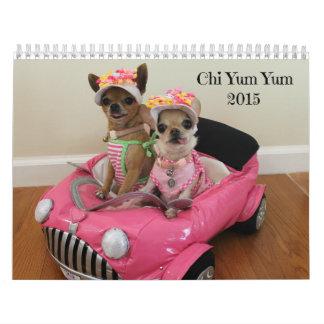 Calendario 2015 de la ji Yum Yum