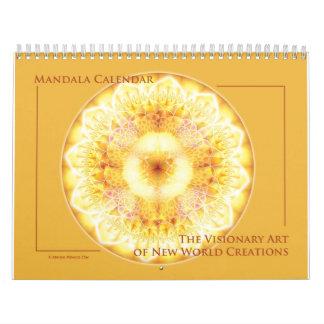 Calendario 2015 de la mandala