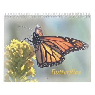 Calendario 2015 de la mariposa