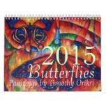 Calendario 2015 de la mariposa por Timothy Orikri