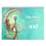 Calendario 2015 de la sirena por Molly Harrison