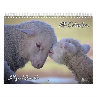 Calendario 2015 de la sociedad del vegano del