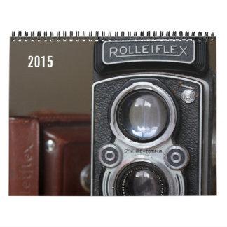 Calendario 2015 de las cámaras del vintage