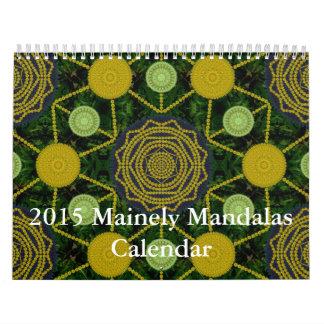 Calendario 2015 de las mandalas de Mainely