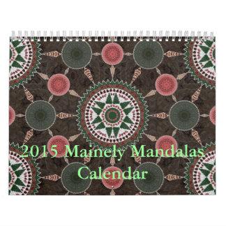Calendario 2015 de las mandalas de Mainely 2