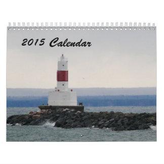 Calendario 2015 de las orillas de Marquette MI