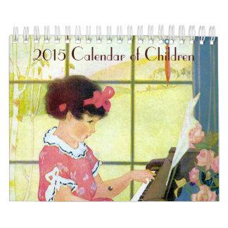 Calendario 2015 de niños