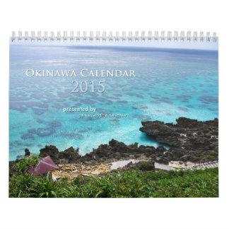 Calendario 2015 de Okinawa