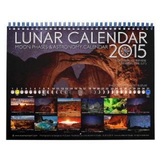 Calendario 2015 de pared de la astronomía del