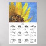 Calendario 2015 de pared de las impresiones del