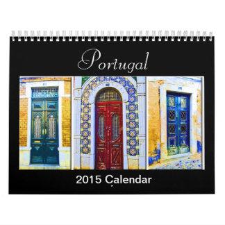 Calendario 2015 de Portugal Tradicional