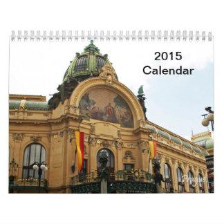 Calendario 2015 de Praga