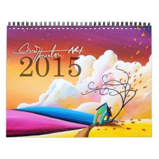 Calendario 2015 del arte de Cindy Thornton