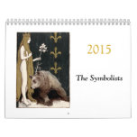 Calendario 2015 del arte del Symbolist