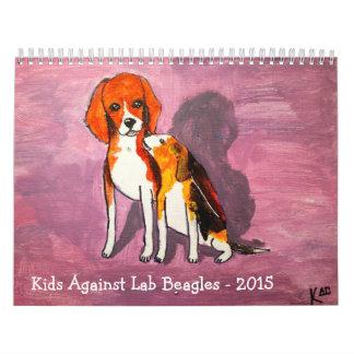 Calendario 2015 del beagle