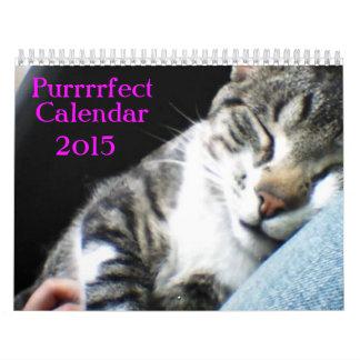 calendario 2015 del gato con subtítulos