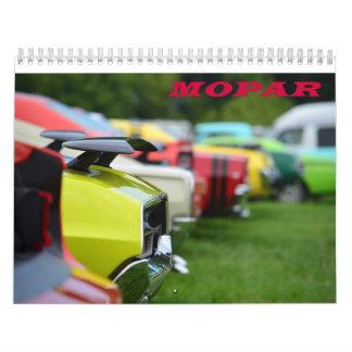 Calendario 2015 del músculo de Mopar