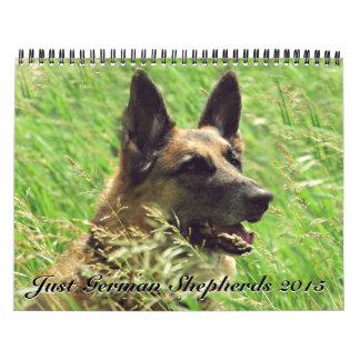 Calendario 2015 del pastor alemán