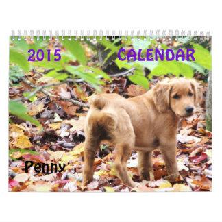 Calendario 2015 del penique