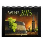 Calendario 2015 del vino