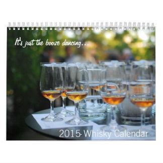 Calendario 2015 del whisky