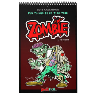 Calendario 2015 del zombi