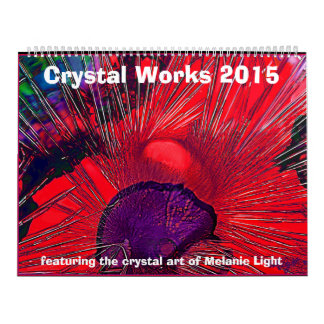 Calendario 2015: El cristal trabaja por la luz de
