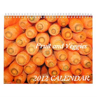 Calendario 2015 - fruta y Veggies