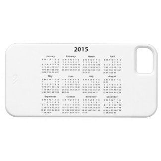 Calendario 2015 iPhone 5 fundas