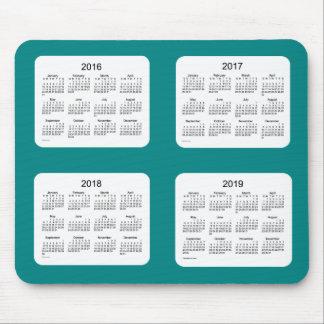 Calendario 2016-2019 del trullo de Janz Mousepad