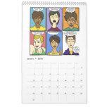 Calendário 2016 calendario de pared