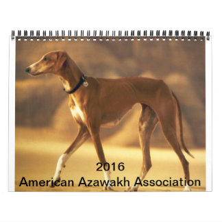 Calendario 2016 de Azawakh