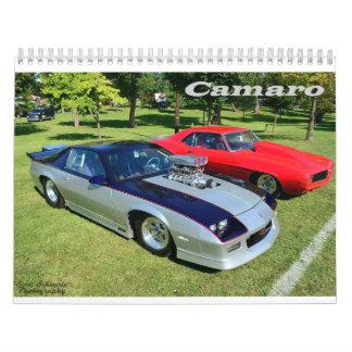 Calendario 2016 de Camaro