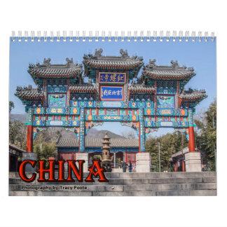 Calendario 2016 de China - calendario chino